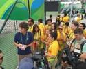 Guga ofusca estrelas e atrai multidão no Centro Olímpico de Tênis no Rio