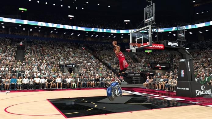 NBA 2K17 (Foto: Reprodução/Rodrigo Rosalinski)