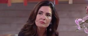 Fátima se emociona com homenagem a Domingos Montagner (Foto: TV Globo)