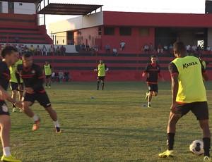 Treino do Campinense (Foto: Reprodução / TV Paraíba)