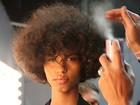 Confira imagens dos backstages das semanas de moda do Rio nesta terça, dia 10