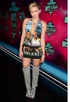Veja o estilo de Miley Cyrus e mais famosas no prêmio EMA 2013