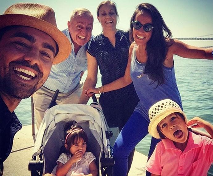 Curtição em família durante as férias (Foto: Arquivo Pessoal)