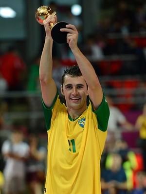 Neto Brasil campeão mundial de futsal 2012 (Foto: Getty Images/Fifa)