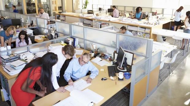 Escritórios estão mudando: mais flexibilidade, colaboração e menos rigidez (Foto: Thinkstock)