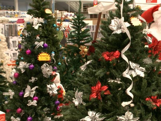 JMTV1 destaca árvores de Natal e o concurso 'Árvore Encantada' (Foto: Reprodução/TV Mirante)