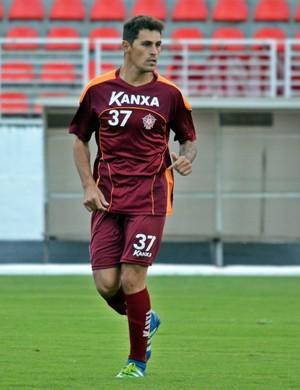 Romano lateral-esquerdo Boa Esporte (Foto: Régis Melo)