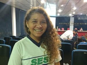 Jovens são treinados para Patrulha Eleitoral (Foto: Ana Fabre/G1)