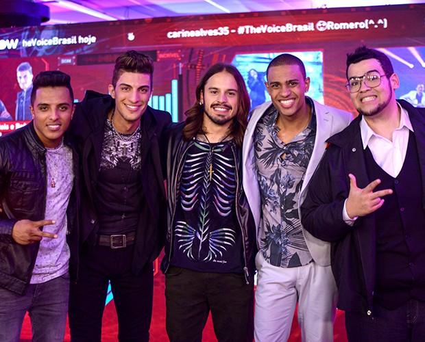 Finalistas The Voice Brasil 3 (Foto: Camila Serejo/Gshow)