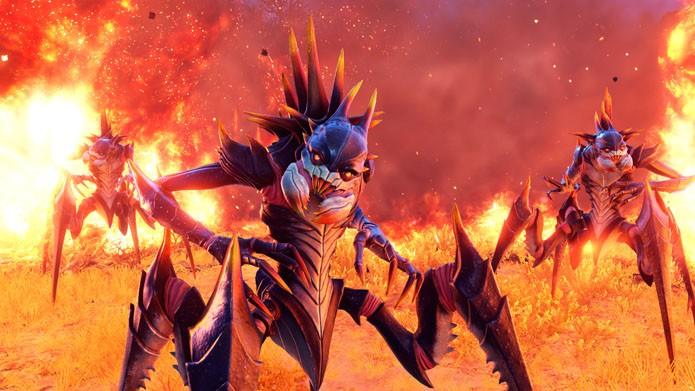 Um dos vários tipos de aliens que você encontra no jogo (Foto: Divulgação/2K Games)