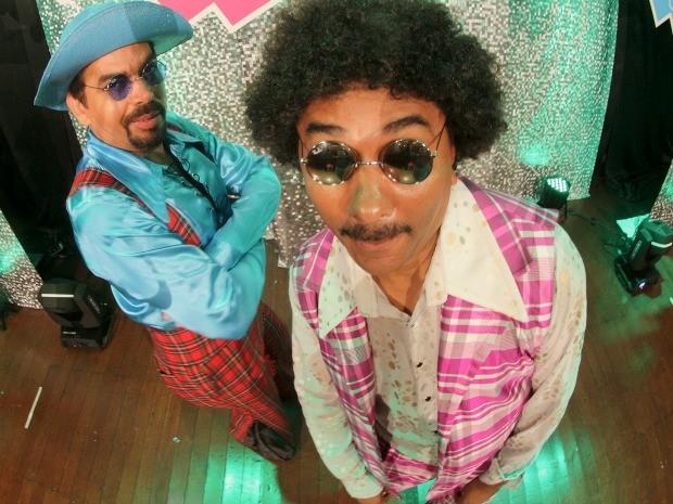 Nico e Lau fazem show de humor em Cuiabá (Foto: Fablício Rodrigues/ Divulgação)