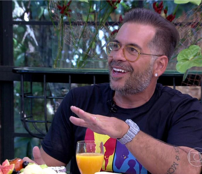 Leandro Hassum fala sobre a perda de peso no 'Mais Você' (Foto: TV Globo)