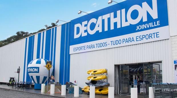Decathlon de Joinville (SC): menor unidade da rede em área, mas exemplo para expansão (Foto: Divulgação)