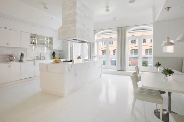 Cozinha do apartamento (Foto: Reprodução/ Compass)