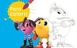Para colorir: Parceiros de Pac