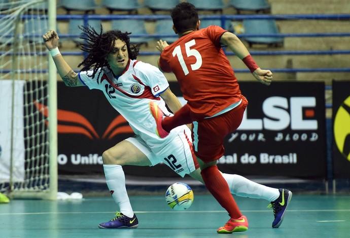 Irã Costa Rica Grand Prix Futsal (Foto: Divulgação/CBFS)