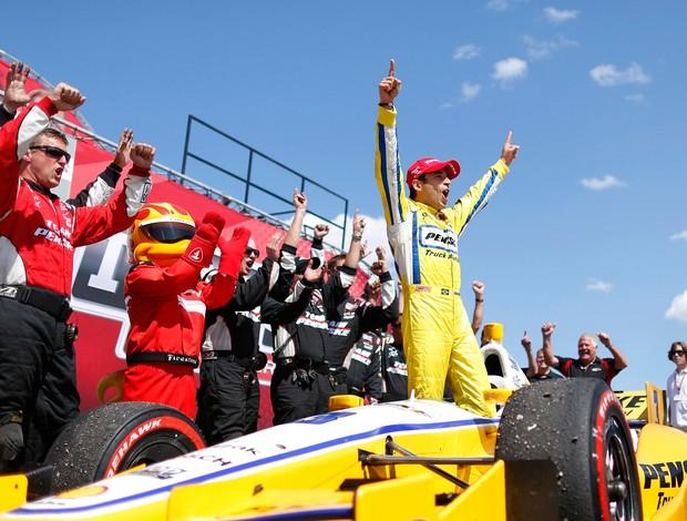 Helio Castroneves Fórmula Indy (Foto: Reuters)