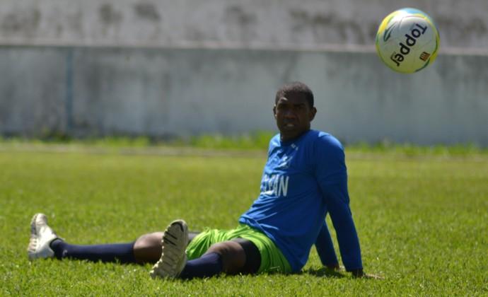 goleiro Santos Taubaté (Foto: Filipe Rodrigues)