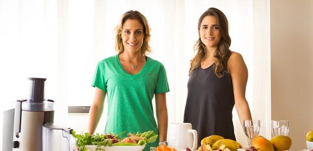 Carol Buffara e Luiza Souza (Foto: Joana Luz)