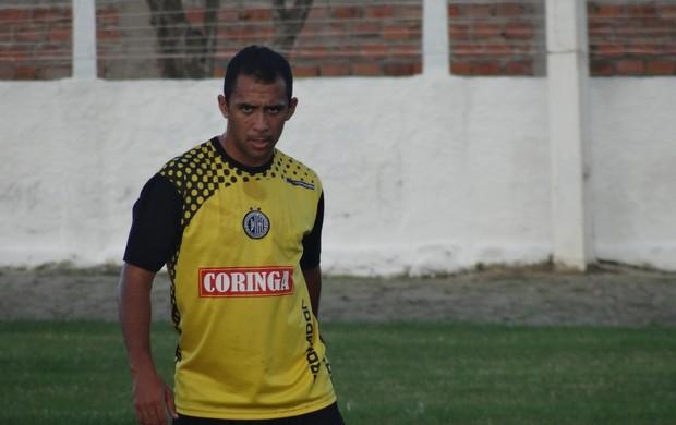 André Cassaco, meia do ASA (Foto: Leonardo Freire/GLOBOESPORTE.COM)