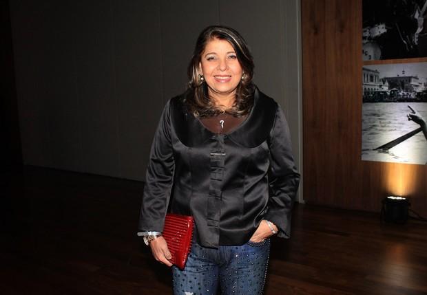 Roberta Mirando no Lançamento do livro do Roberto Carlos (Foto: Celso Tavares / Ego)