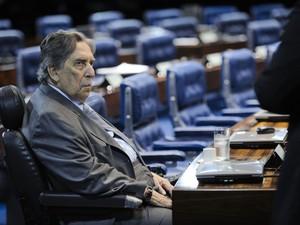 Senador Epitácio Cafeteira (PRB) (Foto: Pedro França/Agência Senado)