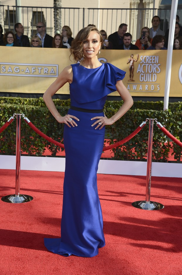 Giuliana Rancic no Screen Actors Guild Awards 2013 (Foto: Reprodução / Agência Getty Images)
