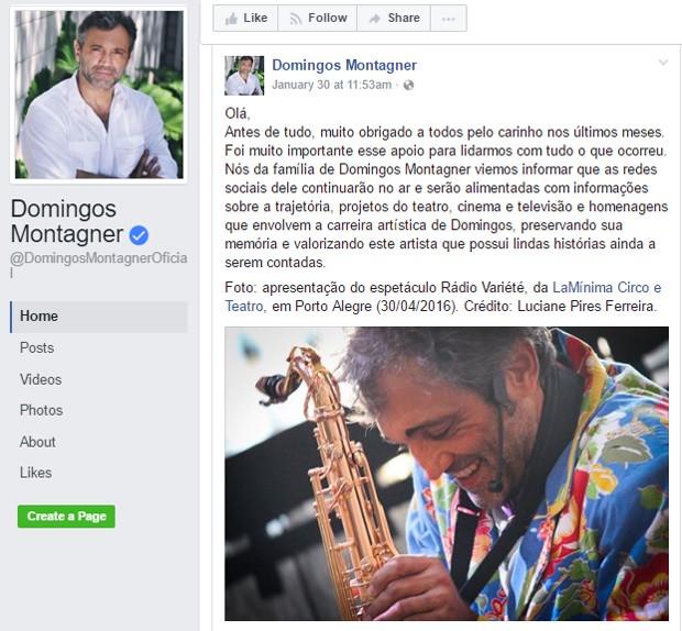 QUEMtinhas: Família de Domingos Montagner manda recado em página do ator e mais 4 notícias que marcaram o dia (31/01/2017)