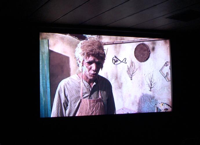 Uma das telas de cinema inauguradas no Sesc Glória  (Foto: Divulgação/TV Gazeta)