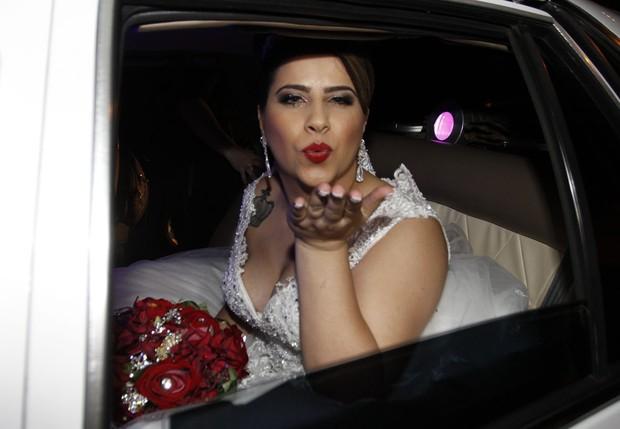 Decoração do casamento de Neném e Thais (Foto: Celso Tavares / Ego)