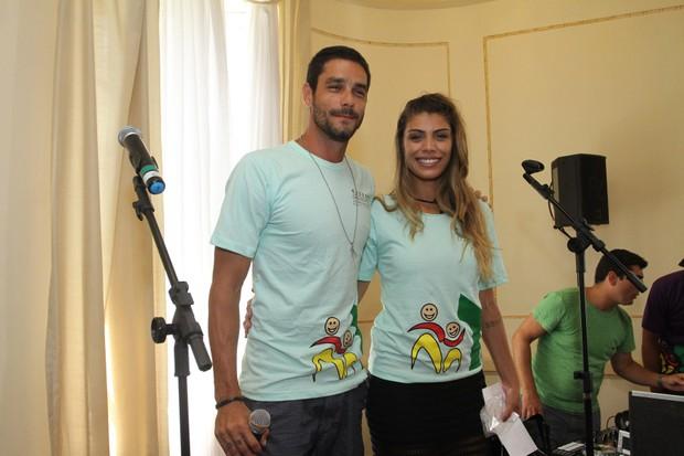 Fran e Diego  (Foto: Brazilnews)