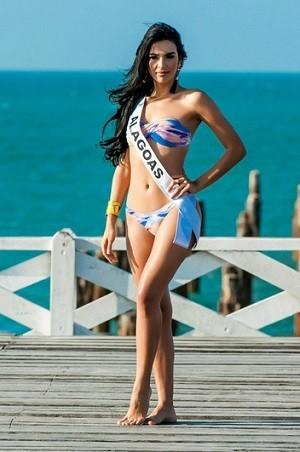 Miss Alagoas é natural de Arapiraca (Foto: Lucas Ismael/Band/Divulgação)