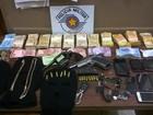 Grupo rouba R$ 46 mil de casa, foge e é preso em motel em Jaboticabal, SP