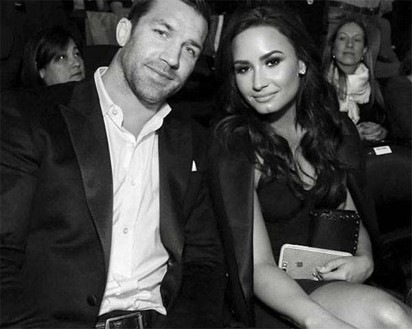 Demi Lovato e Luke Rockhold  (Foto: Reprodução/Instagram)