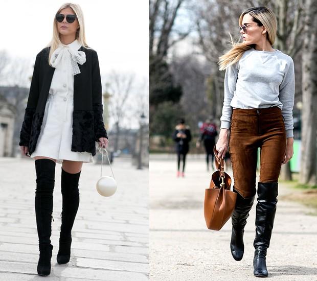 38792a419ac77 Botas de inverno! Aprenda a usar cada modelo de um jeito moderno - Revista  Marie Claire   Moda