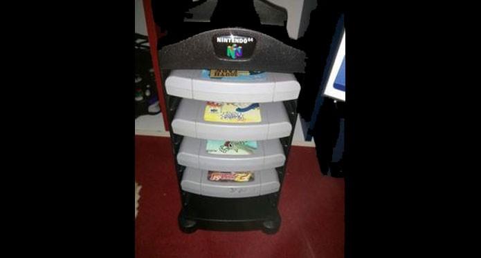Torre de jogos do Nintendo 64 (Foto: Reprodução/Pinterest)