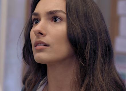 Luciana se irrita com ofensa de Rodrigo: 'Você é doido!'