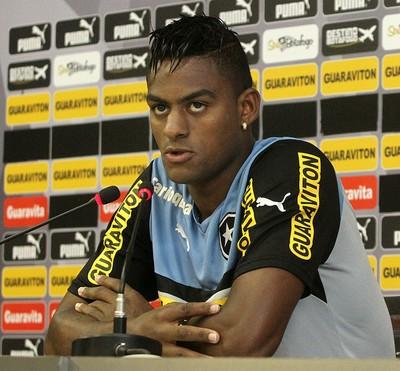 Dankler, Botafogo, coletiva (Foto: Vitor Silva/SSPress)