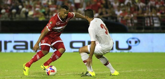 Zé Carlos é o artilheiro do CRB e da Segundona (Foto: Ailton Cruz/Gazeta de Alagoas)