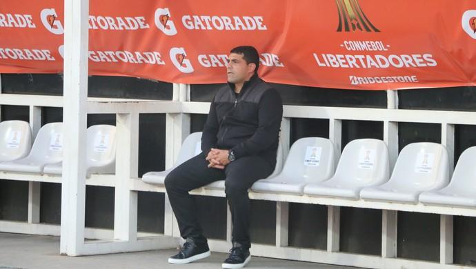 Francesco Stifano Zamora técnico Pep Guardiola (Foto: Eduardo Moura/GloboEsporte.com)