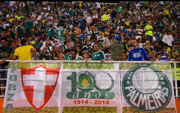 Torcida palmeiras, Palmeiras x Bragantino (Foto: Mauro Horita)