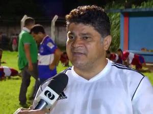 Célio Ivan comenta amistoso do Tocantins (Foto: Reprodução/TV Anhanguera)