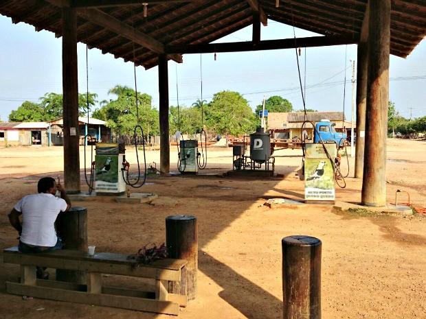 Em Boa Vista do Pacarana, gasolina chega a custar R$ 4,48 (Foto: Leandro Lima Pinheiro/Arquivo pessoal)