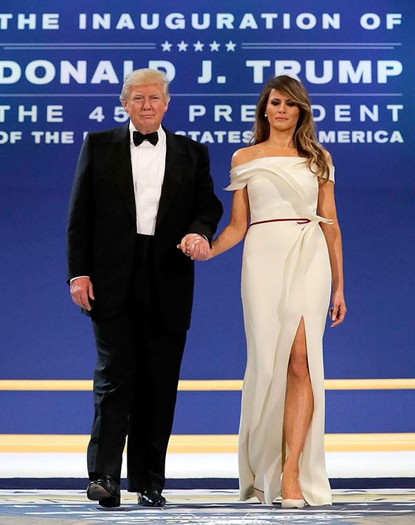 Donald e Melania Trump (Foto: Getty Images)
