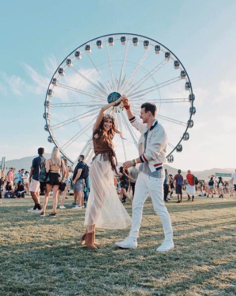 Coachella 2017 (Foto:  Reprodução/Instagram @maryleest)