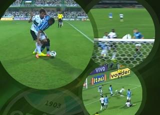 Carrossel Pacotão Grêmio (Foto: GloboEsporte.com)