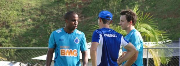 Borges e Daboberto (Foto: Tarcísio Badaró / Globoesporte.com)