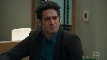 Beto desabafa com Henrique sobre seu amor por Tancinha
