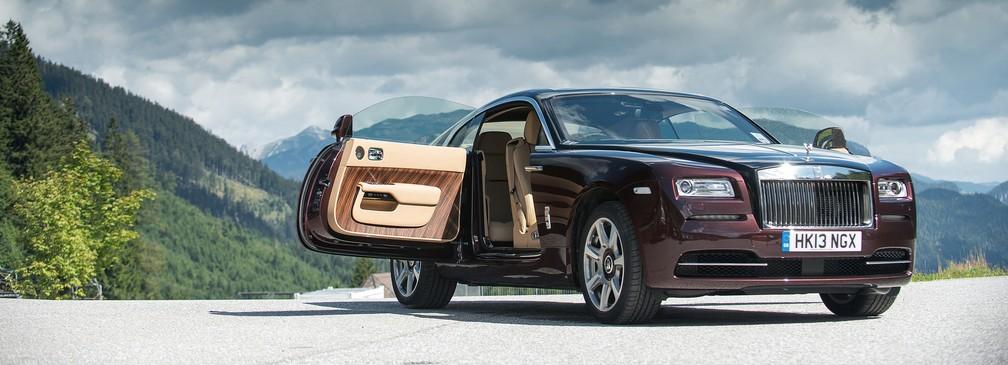 Rolls-Royce Wraith (Foto: Divulgação)