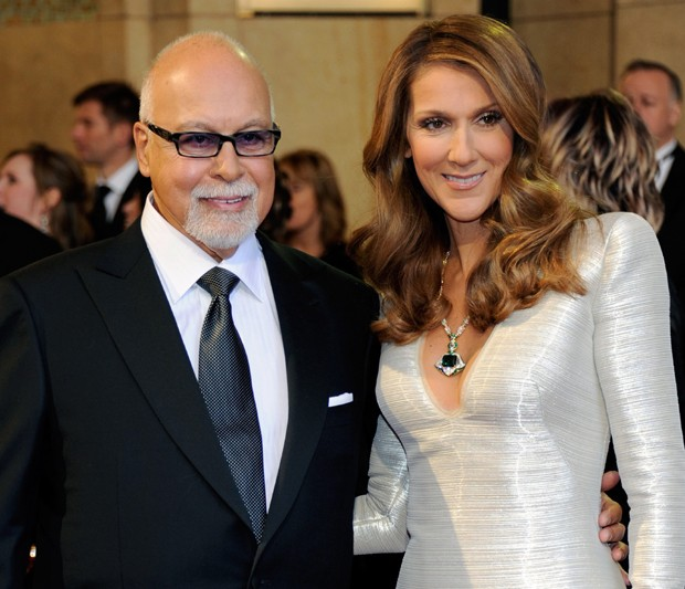 Celine Dion e Rene Angelil (Foto: Getty Images)